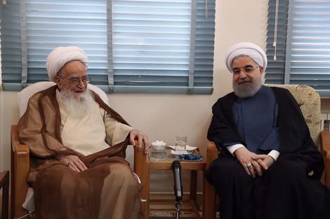 الرئيس روحانی يطلع مراجع الدین على خطط حكومته الاقتصادية 3