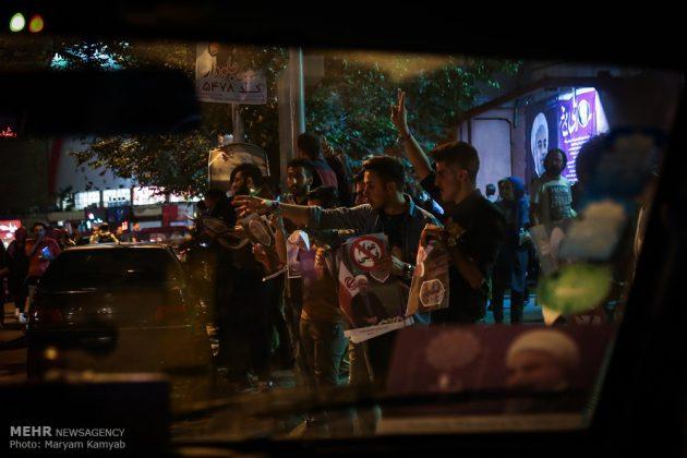 طهران .. الليلة الاخيرة للحملة الانتخابية الرئاسية34