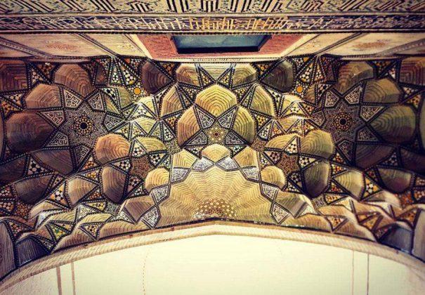 زیر سقف مساجد ایرانی4