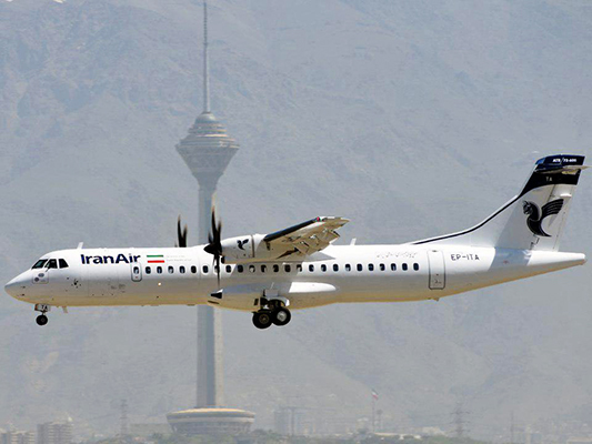 4 Newly-Purchased ATR- Planes Land in Tehran