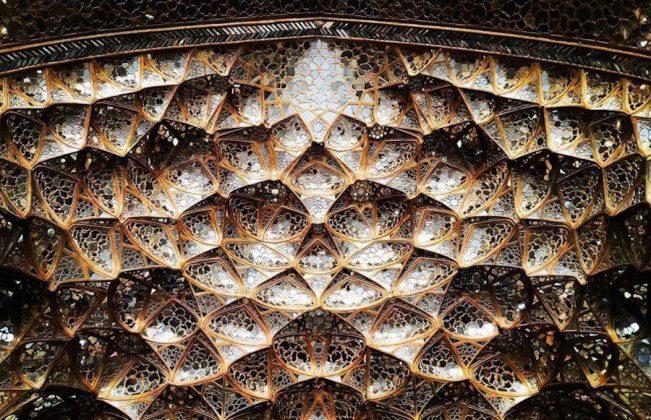 زیر سقف مساجد ایرانی5