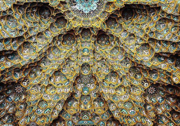 زیر سقف مساجد ایرانی6