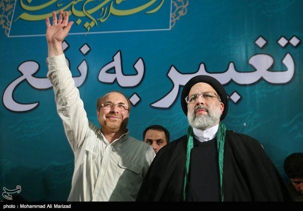 المرشح رئيسي بين أنصاره في طهران 6