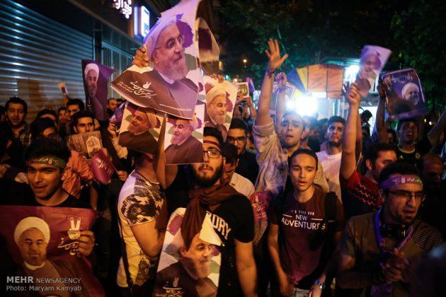 طهران .. الليلة الاخيرة للحملة الانتخابية الرئاسية6