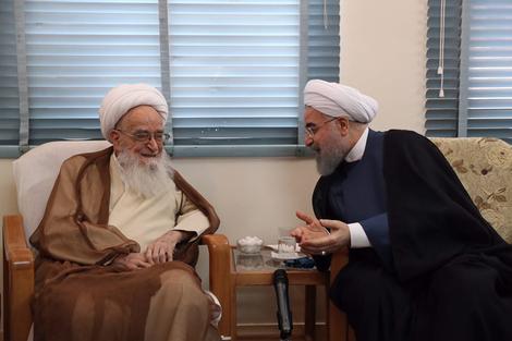 الرئيس روحانی يطلع مراجع الدین على خطط حكومته الاقتصادية 6