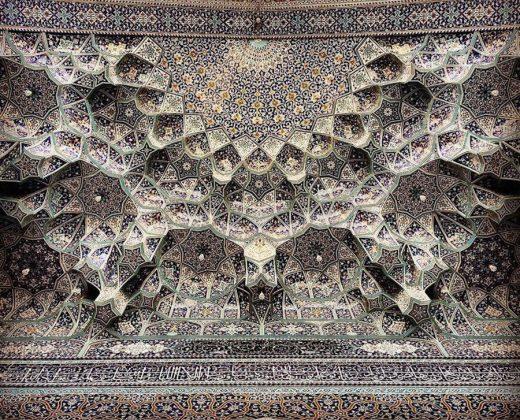 زیر سقف مساجد ایرانی7