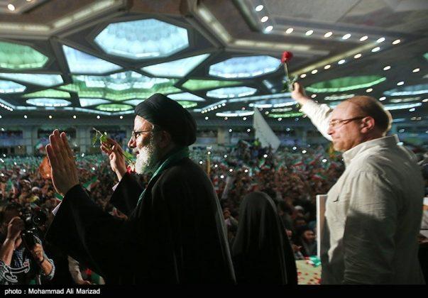 المرشح رئيسي بين أنصاره في طهران 7