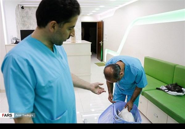 ايران .. جراحة إزالة الماء الأبيض من عين بطة 7