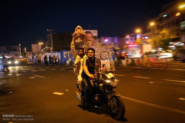 طهران .. الليلة الاخيرة للحملة الانتخابية الرئاسية8