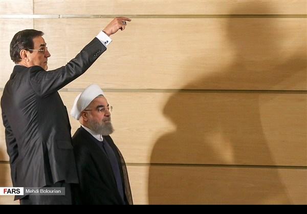 اول اطلالة صحفية للرئيس روحاني بعد فوزه بولاية ثانية8