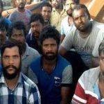 الافراج عن 15 صیادا هندیا في ايران