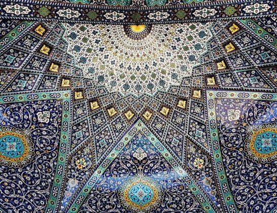 زیر سقف مساجد ایرانی9