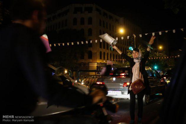 طهران .. الليلة الاخيرة للحملة الانتخابية الرئاسية9