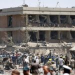 Afghanistan-Kabol Explosion