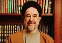 خاتمي يدعم روحاني ويدعو للمشاركة الملحمية في الانتخابات الرئاسية