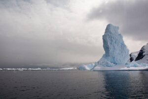 South Pole in Antarctica