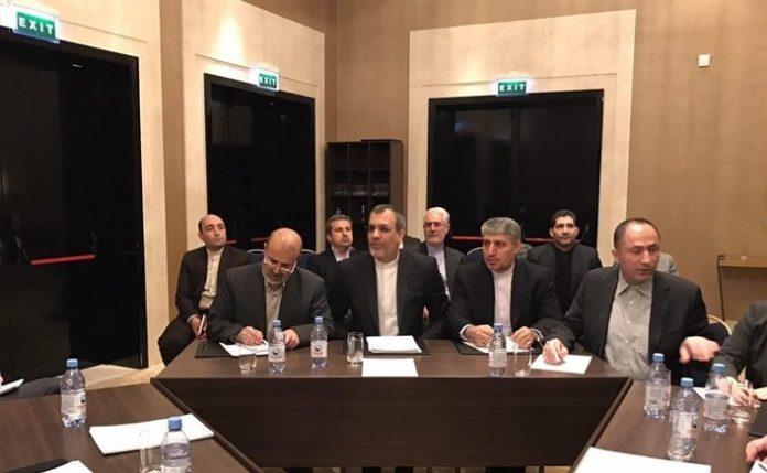 الوفد الايراني برئاسة جابري انصاري يصل آستانة للتباحث بشأن سوريا