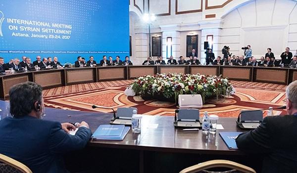 روسيا وايران وترکیا تبدأ اجتماعا ثلاثيا في استانا