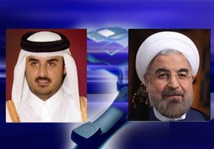 حسن روحاني – أمير قطر