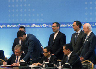 Memorandum Signed on Creating De-Escalation Zones in Syria