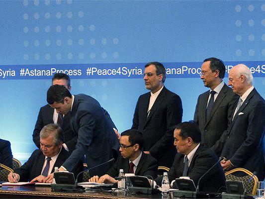 Memorandum Signed on Creating De-Escalation Zones in Syria