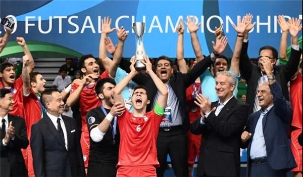 إيران تحرز لقب بطولة آسيا للشباب بكرة الصالات