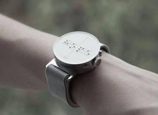 تولید ساعت مچی هوشمند برای نابینایان
