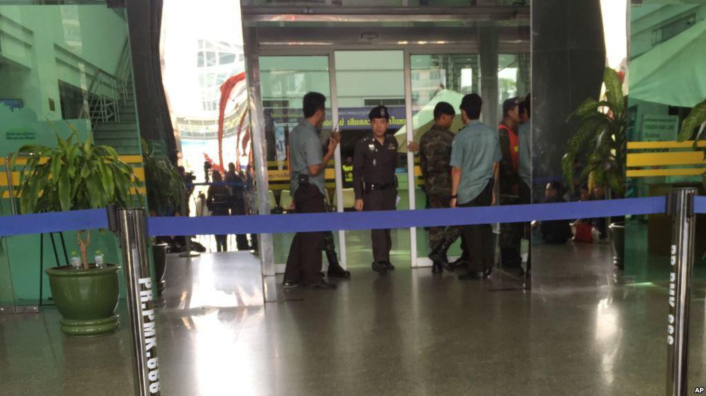 نوشته عینی در ورد میز انفجار بمب در بیمارستان، تایلندیها را شوکه کرد