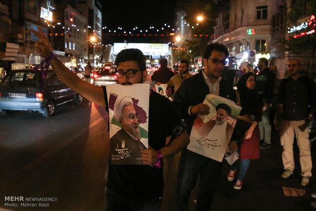 حال و هوای مردم تهران در شب قبل از انتخابات