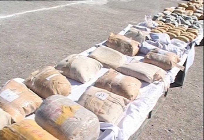 ضبط أكثر من 6 أطنان من انواع المخدرات في جنوب شرقي ايران