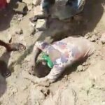 Indian Girl Rescued after Being Buried Alive
