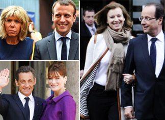 زندگی زناشویی به سبک رؤسای جمهور فرانسه!