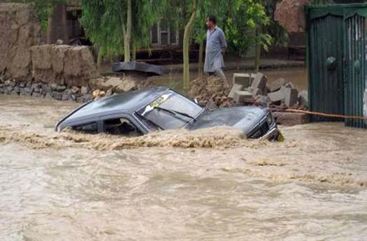 الفيضانات تجتاح 12 محافظة ایرانیة