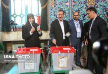 النائب الأول للرئيس الايراني يدلي بصوته في الانتخابات الرئاسية