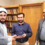 التوقيع على مذكرة تفاهم بين جامعة المذاهب الاسلامية وجامعة الامام الرضا (ع)