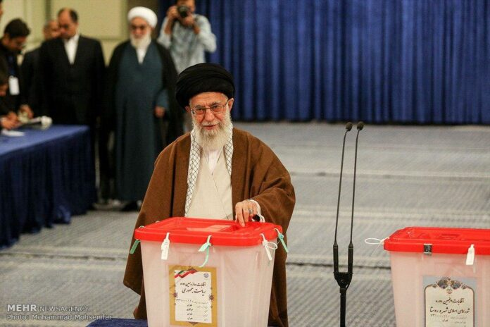 Iran supreme leader in iran elections