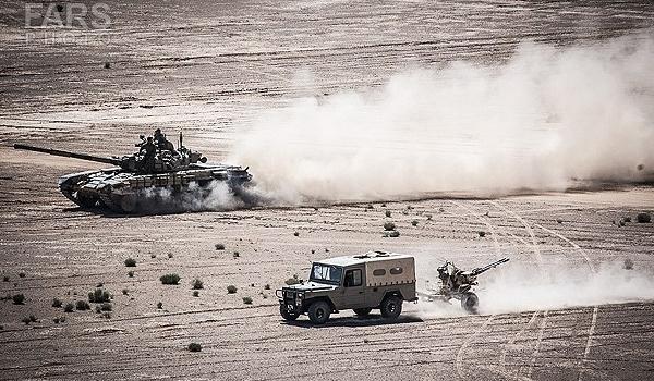 القوة البرية للجيش الايراني تبدأ مناورات كبرى في اصفهان