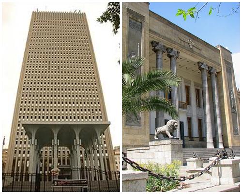 افتتاح فروع لبنكي صادرات وملي الايرانيين بسلطنة عمان