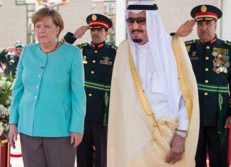 انتقاد مرکل از حمله عربستان به یمن در دیدار با ملک سلمان