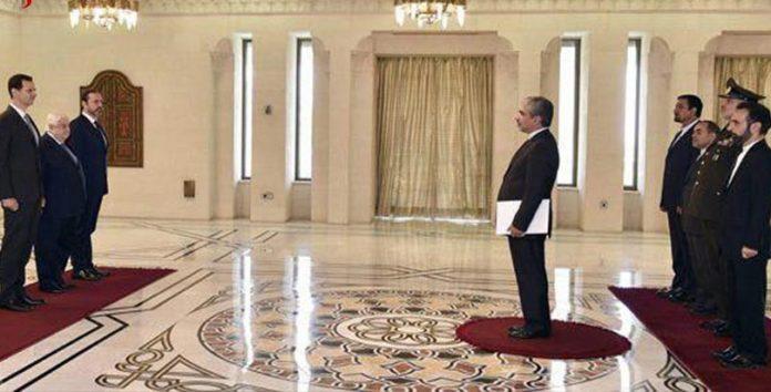 السفير الايراني الجديد في دمشق يسلم اوراق اعتماده للأسد