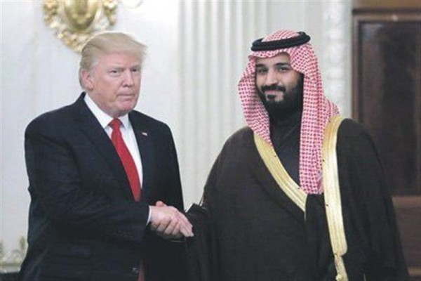محمد بن سلمان و ترامپ