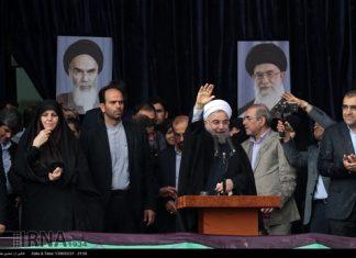 روحاني في مشهد