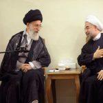 الرئيس روحاني يلتقي قائد الثورة الاسلامية