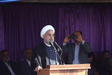 روحاني .. الاتفاق النووي صدّع جدار العقوبات ضد ايران