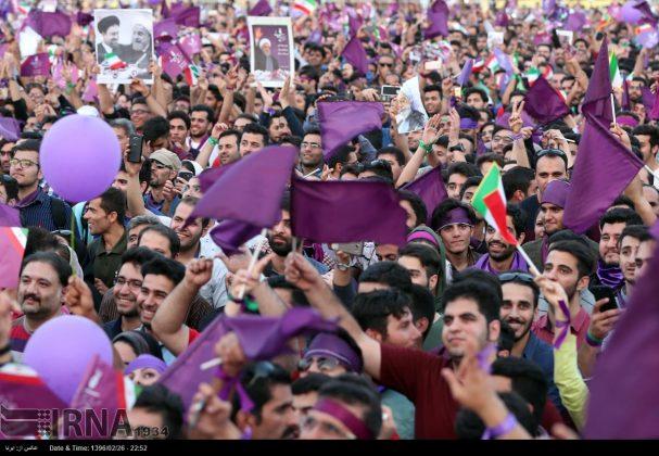 20حسن روحاني في ضيافة أهالي مدينة أهواز