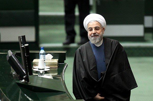 الرئيس روحاني يؤدي اليمين الدستورية في 6 أغسطس