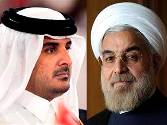 أميرقطر -الرئيس الايراني