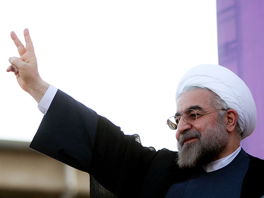 Rouhani Re-Elected as Iran's President: State TV