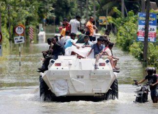 بارانهای موسمی سریلانکا 500،000 تن را آواره کرد