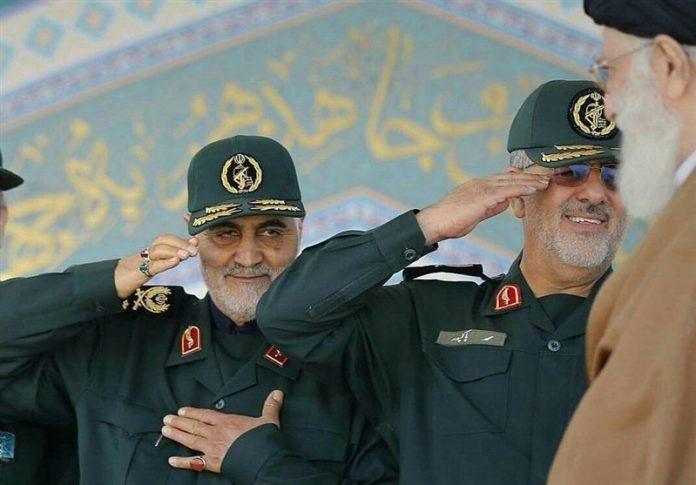 تحية الجنرال قاسم سليماني القلبية للقائد الخامنئي